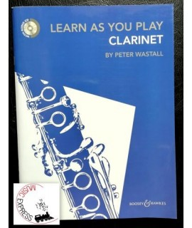 Wastall - Learn As You Play Clarinet