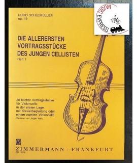 Schlemüller - Die Allerersten Vortragsstücke Des Jungen Cellisten Heft 1