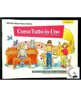 Alfred's Basic Piano Library - Corso Tutto-In-Uno Volume 1