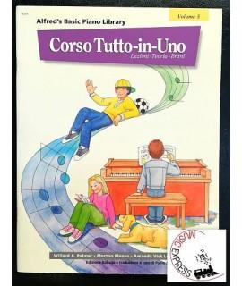 Alfred's Basic Piano Library - Corso Tutto-In-Uno Volume 5