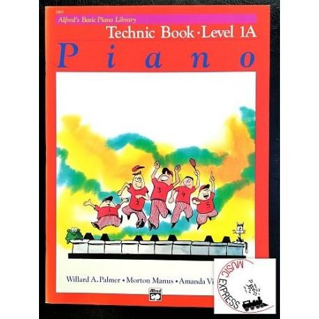 Alfred's Basic Piano Library - Piano Technic Book Level 1A