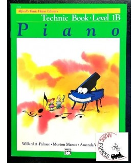 Alfred's Basic Piano Library - Piano Technic Book Level 1B