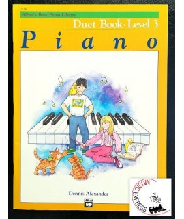 Alfred's Basic Piano Library - Piano Duet Book Level 3