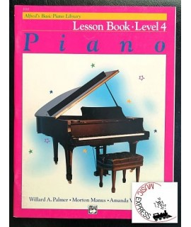 Alfred's Basic Piano Library - Piano Lesson Book Level 4
