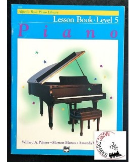 Alfred's Basic Piano Library - Piano Lesson Book Level 5