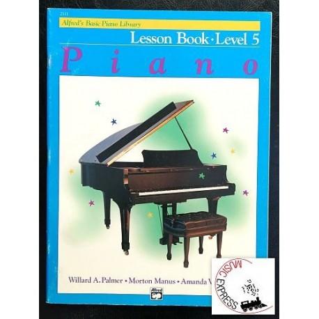 Alfred's Basic Piano Library - Piano Lesson Book Level 5