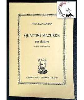 Tarrega - Quattro Mazurke per Chitarra