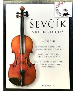 Sevcik - Violin Studies Opus 8