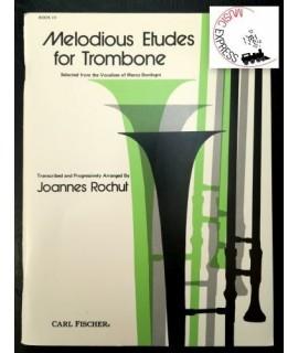 Rochut - Melodius Etudes for Trombone Book III