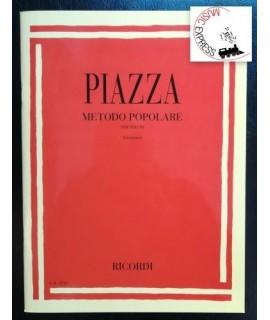 Piazza - Metodo Popolare Per Flauto