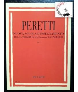 Peretti - Nuova Scuola d'Insegnamento della Tromba in SiB  e Congeneri Parte 1