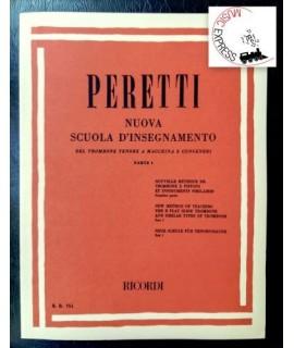 Peretti - Nuova Scuola d'Insegnamento del Trombone Tenore a Macchina e Congeneri Parte 1