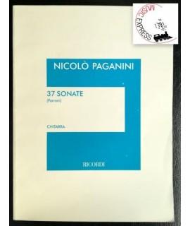 Paganini - 37 Sonate per Chitarra Sola