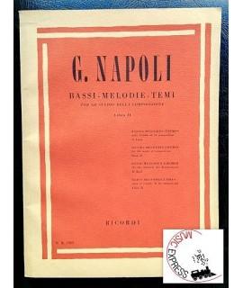 Napoli - Bassi-Melodie-Temi per lo Studio della Composizione Libro II