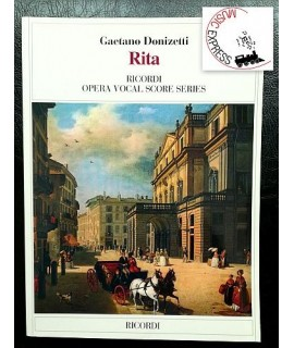 Donizetti - Rita - Ricordi Opera Vocal Score Series