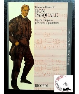 Donizetti - Don Pasquale - Ricordi Opera Vocal Score Series