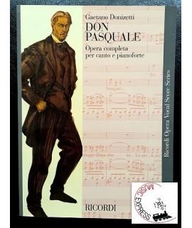 Donizetti - Don Pasquale - Ricordi Opera Vocal Score Series