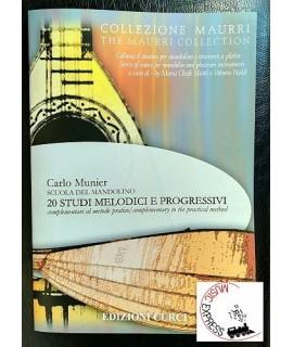 Munier - Scuola del Mandolino - 20 Studi Melodici e Progressivi