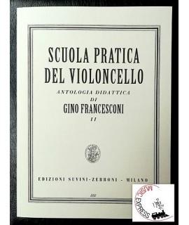 Francesconi - Scuola Pratica del Violoncello - Antologia Didattica II