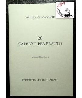 Mercadante - 20 Capricci Per Flauto