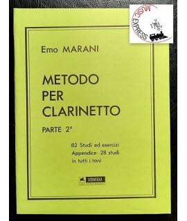 Marani - Metodo Per Clarinetto Parte 2°