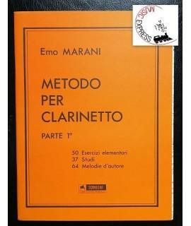 Marani - Metodo Per Clarinetto Parte 1°