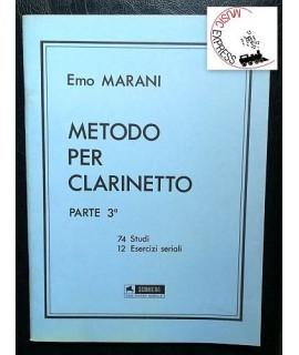 Marani - Metodo Per Clarinetto Parte 3°