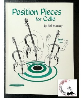 Mooney - Position Pieces for Cello Book Two