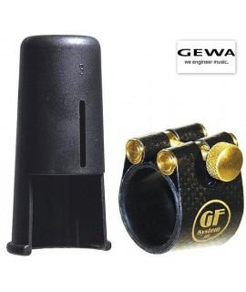 GF-System 10M Legatura e Copribocchino Gold-Line per Sax Tenore