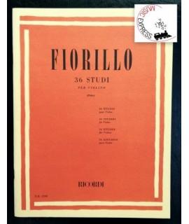 Fiorillo - 36 Studi per Violino