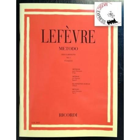 Lefèvre - Metodo Per Clarinetto Vol. 1