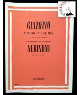 Giazotto - Adagio in Sol Min. per Archi e Organo su due spunti tematici e su un basso numerato di Albinoni
