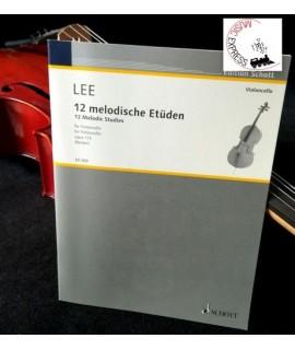 Lee - 12 Melodische Etüden für Violoncello Opus 113