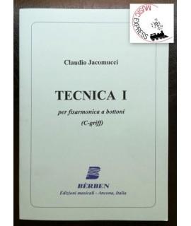 Jacomucci - Tecnica 1 per Fisarmonica a Bottoni
