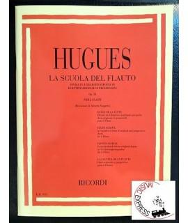 Hugues - La Scuola Del Flauto Op. 51 per 2 Flauti
