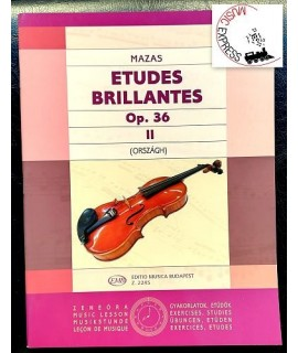 Mazas - Etudes Brillantes Op. 36 Vol. 2