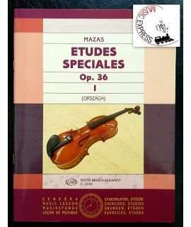 Mazas - Etudes Speciales Op. 36 Vol. 1