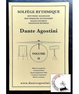 Agostini - Solfeggio Ritmico Volume 2 - Battute Composte
