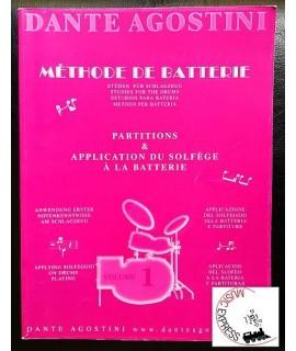 Agostini - Metodo per Batteria Volume 1