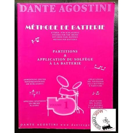 Dante Agostini metodo per batteria Volume 1