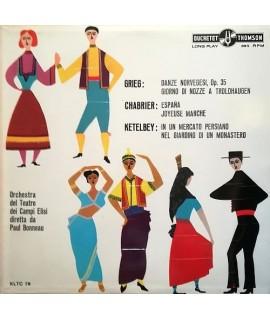 Orchestra del Teatro dei Campi Elisi - Musiche di Grieg, Chabrier, Ketelbey