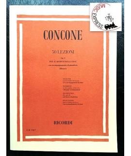 Concone - 50 Lezioni Op. 9 per il Medium della Voce