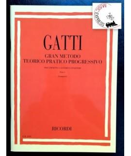 Gatti - Gran Metodo Teorico Pratico Progressivo per Cornetta a Cilindro e Congeneri Parte I