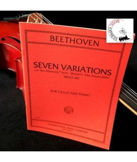 Beethoven - Seven Variations for Cello and Piano