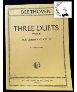Beethoven - Three Duets Wo0 37 for Violin and Cello