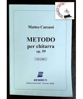 Carcassi - Metodo per Chitarra Op. 59 Volume 1