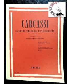 Carcassi - 25 Studi Melodici e Progressivi Op. 60 per Chitarra