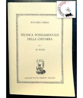 Chiesa - Tecnica Fondamentale della Chitarra Vol. I - Le Scale
