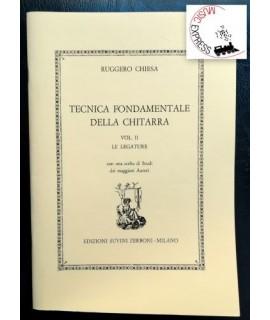 Chiesa - Tecnica Fondamentale della Chitarra Vol. II - Le Legature