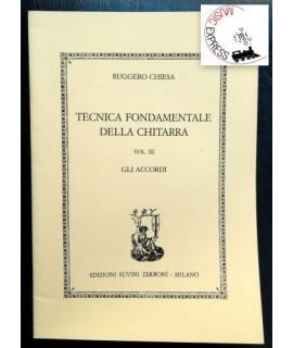 Chiesa - Tecnica Fondamentale della Chitarra Vol. III - Gli Accordi